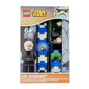 Montre LEGO Star Wars Luke Skywalker avec figurine image