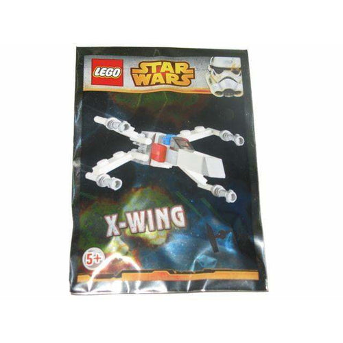 LEGO X-wing Micro foil pack - Swmagpromo - Star Wars image