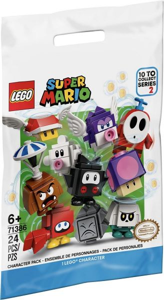 LEGO Character Pack, Series 2 (1 personnage surprise) - 71386 - Super Mario image