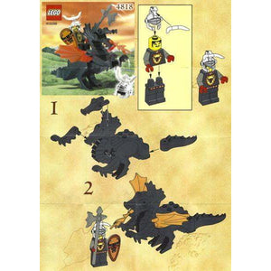 LEGO Dragon Rider - 4818 - Castle