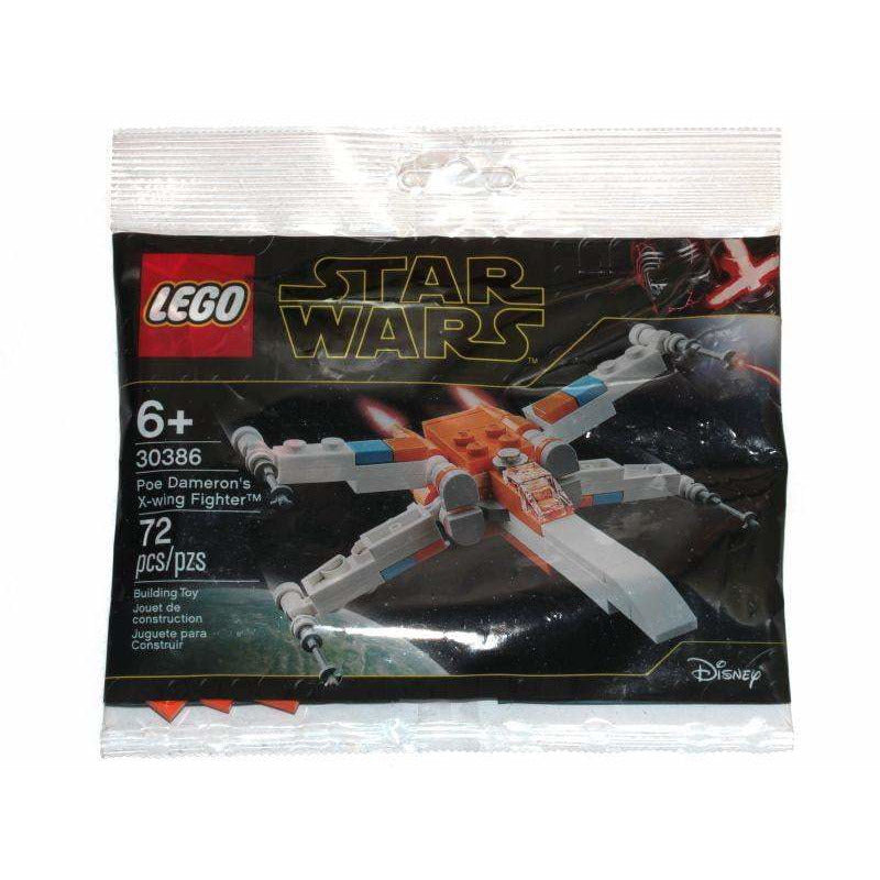 LEGO Poe Dameron's X-wing Fighter (Polybag) - 30386 - Star Wars - La Briqueterie