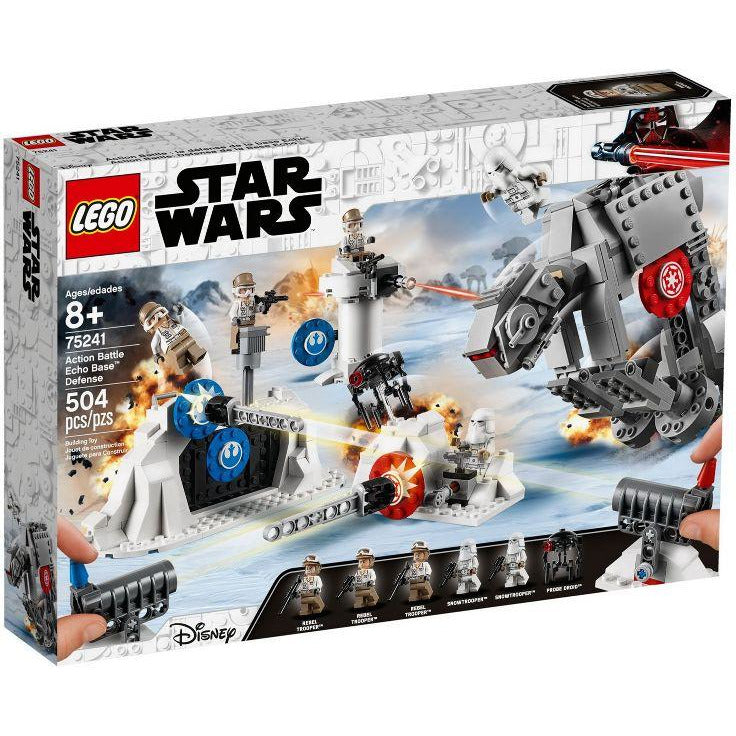 LEGO Action Battle La défense de la base Echo - 75241 - Star Wars image