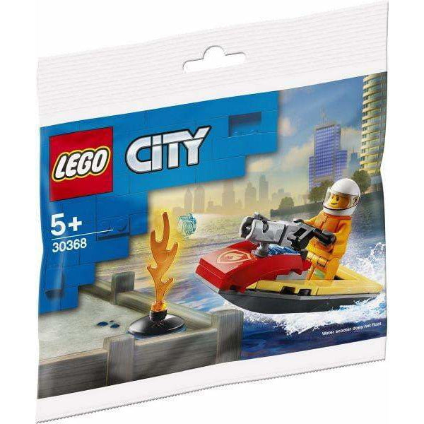 LEGO Fire Rescue Water Scooter (Polybag) - 30368 - City - La Briqueterie