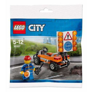 LEGO Road Worker (Polybag) - 30357 - City image