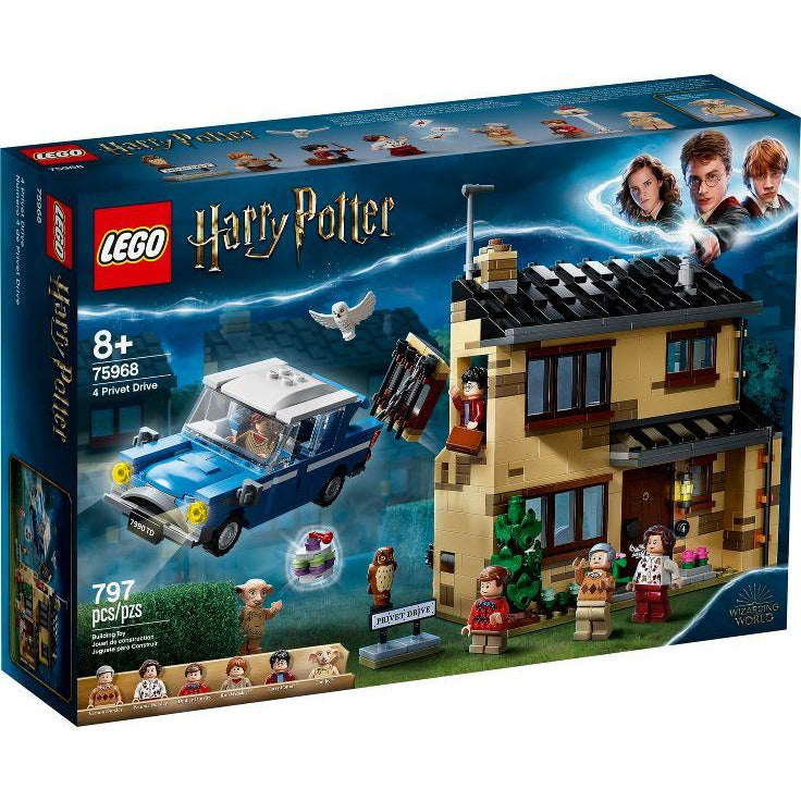LEGO 4 Privet Drive - 75968 - Harry Potter image