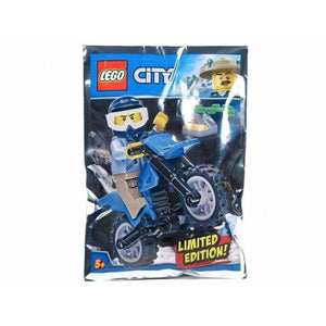 LEGO Policeman and Motorcycle foil pack - 951808 - City image