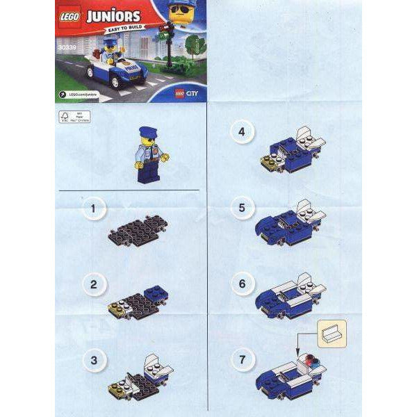 LEGO La police de la circulation (Polybag) - 30339 - Juniors