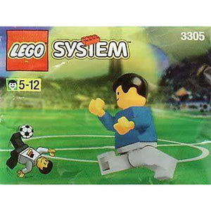 LEGO World Team Player polybag - 3305 - Sports - La Briqueterie