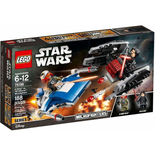 LEGO Microfighter A-Wing vs. Silencer TIE - 75196 - Star Wars image