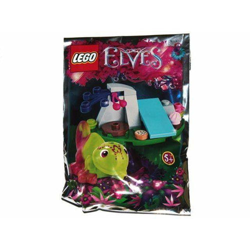 LEGO Hidee the Chameleon foil pack - 241702 - Elves image