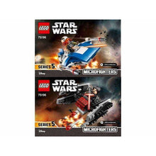 Charger l'image dans la galerie, LEGO Microfighter A-Wing vs. Silencer TIE - 75196 - Star Wars image