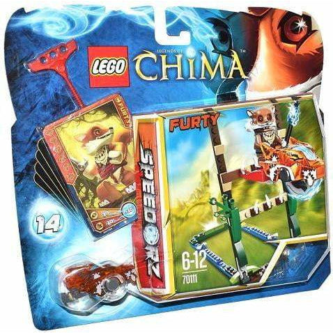LEGO L'ultime saut - 70111 - Legends of Chima - La Briqueterie