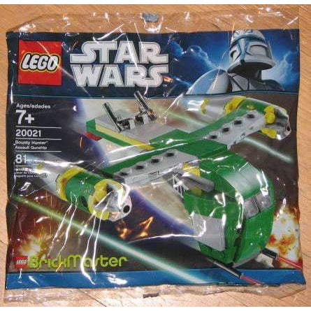 LEGO Bounty Hunter Assault Gunship (Polybag) - 20021 - Star Wars image