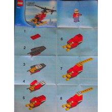 Charger l'image dans la galerie, LEGO Fire Helicopter polybag - 30019 - City image