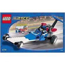 Charger l'image dans la galerie, LEGO Speed Dragster - 6714 - City image