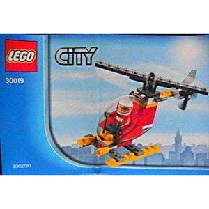 LEGO Fire Helicopter polybag - 30019 - City image