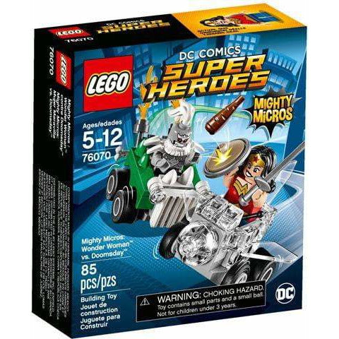 LEGO 76070 Mighty Micros : Wonder Woman contre Doomsday