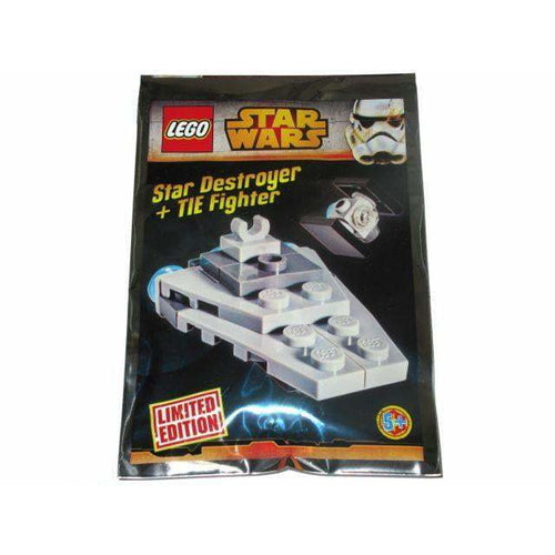 LEGO Star Destroyer and TIE Fighter foil pack - 911510 - Star Wars image