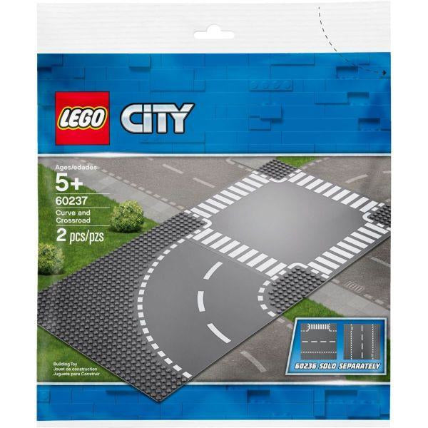 LEGO Virage et carrefour - 60237 - City image
