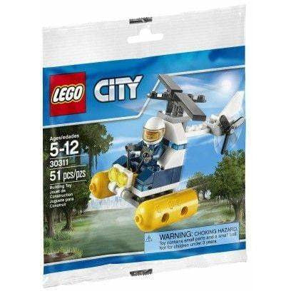 LEGO Swamp Police Helicopter (Polybag) - 30311 - City image