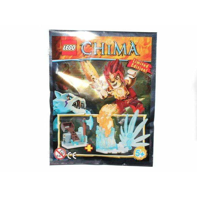 LEGO Ice Prison foil pack - LOC391409 - Legends of Chima image