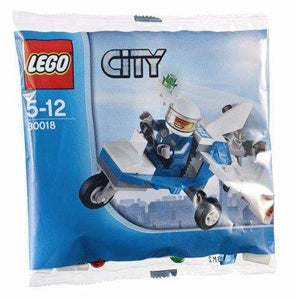 LEGO L'avion de police (Polybag) - 30018 - City image