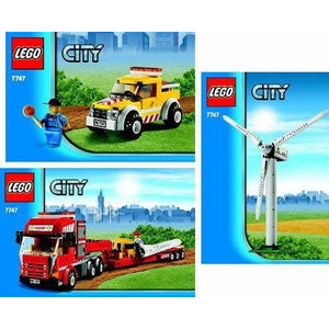 LEGO Wind Turbine Transport - 7747 - City