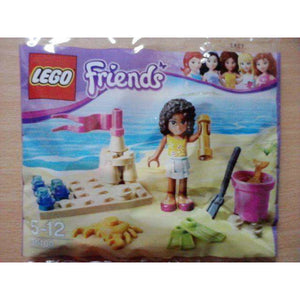 LEGO La plage (Polybag) - 30100 - Friends image