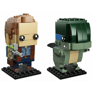 LEGO Owen & Blue (Jurassic World) - 41614 - BrickHeadz image