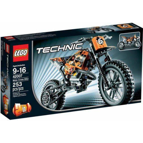 LEGO La moto cross - 42007 - Technic image
