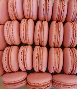 Raspberry Lemonade Macarons