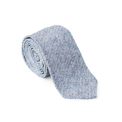 Textured Light Blue Tie