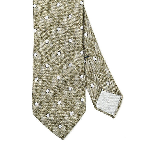 Dotted Green Tie