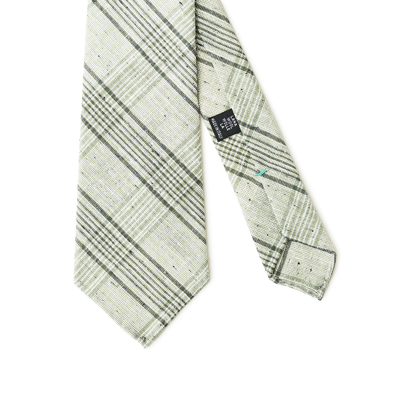Checkered Green Tie