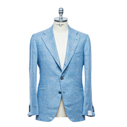 "Light Blue ""Prince of Wales"" Blazer"