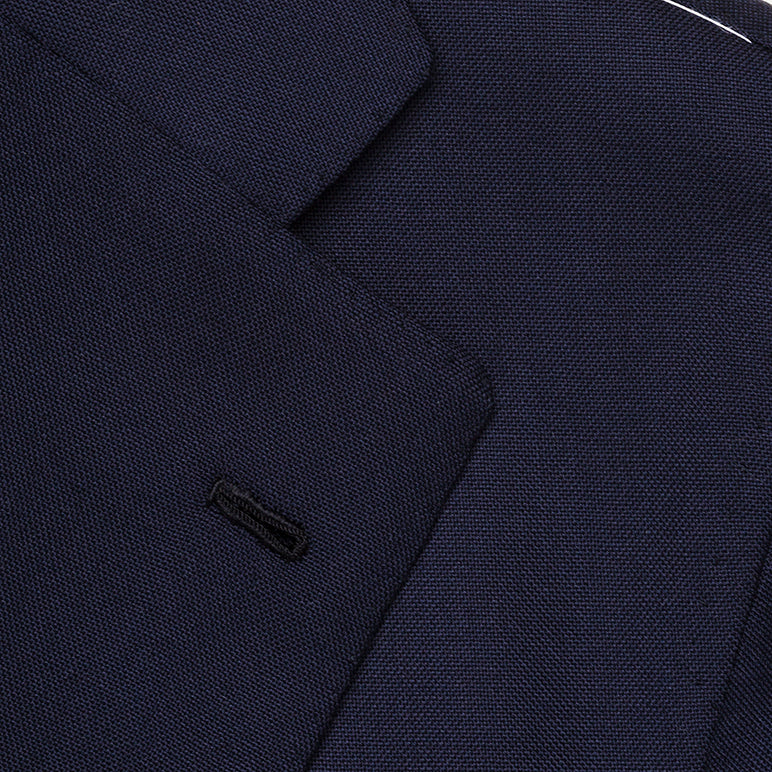 Navy Blue Fresco Suit from Holland & Sherry