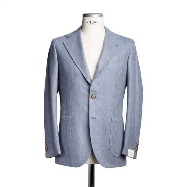 Light Blue Cashmere Blazer