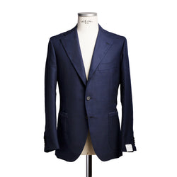 Classic navy balzer in wool from Standeven