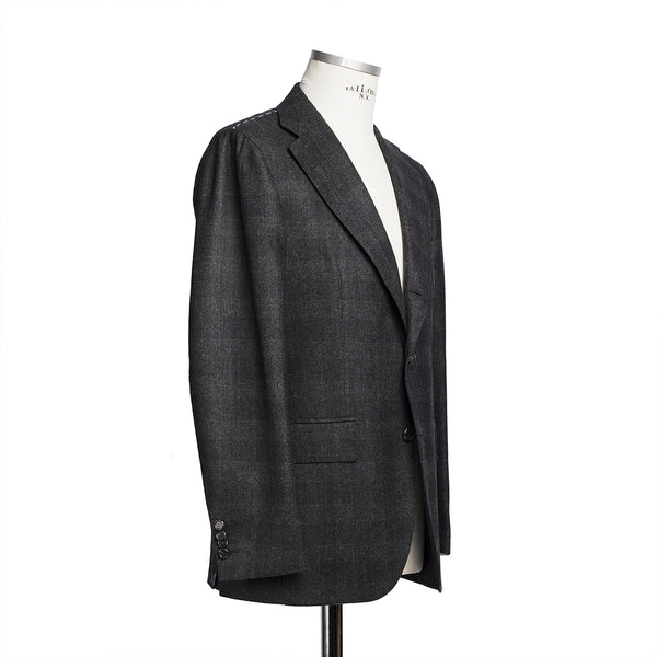 Dark Grey Suit in Solbiati Wool