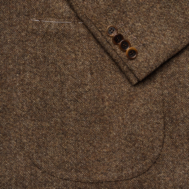 Light Brown Tweed Suit from Abraham Moon