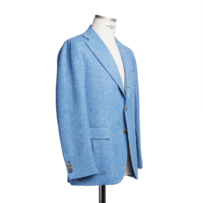 Harrys Tweed Light Blue Blazer