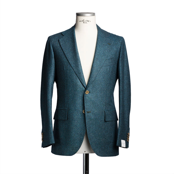 Green Tweed Suit from Carlo Barbera