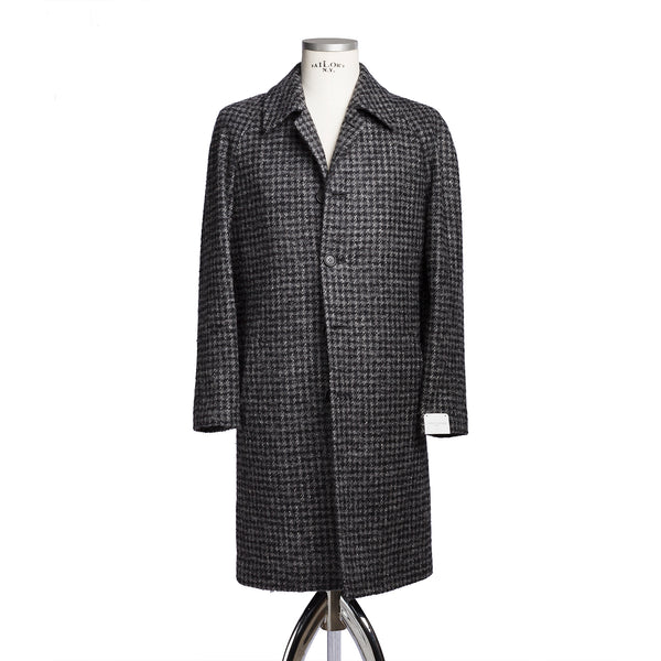 Grey Tweed Raglan Coat from Vital Barberis Canonico