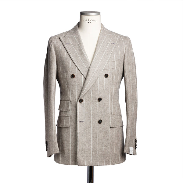 Pinstripe Double Breasted Suit from VBC