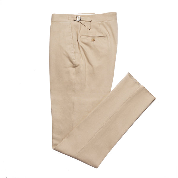 Light Beige Trousers from Loro Piana