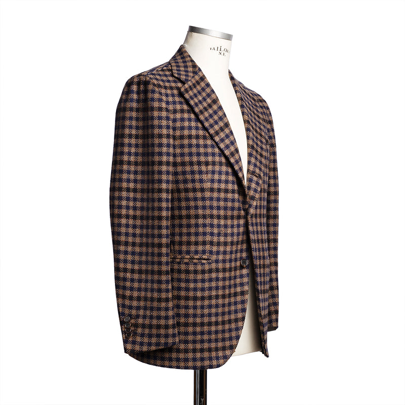 "Checked Blazer from Fox Brothers ""Limited Edition"""