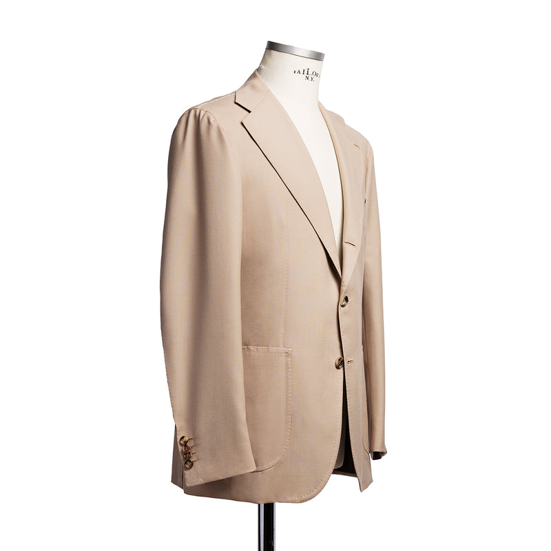 Light beige suit in Harrisons wool