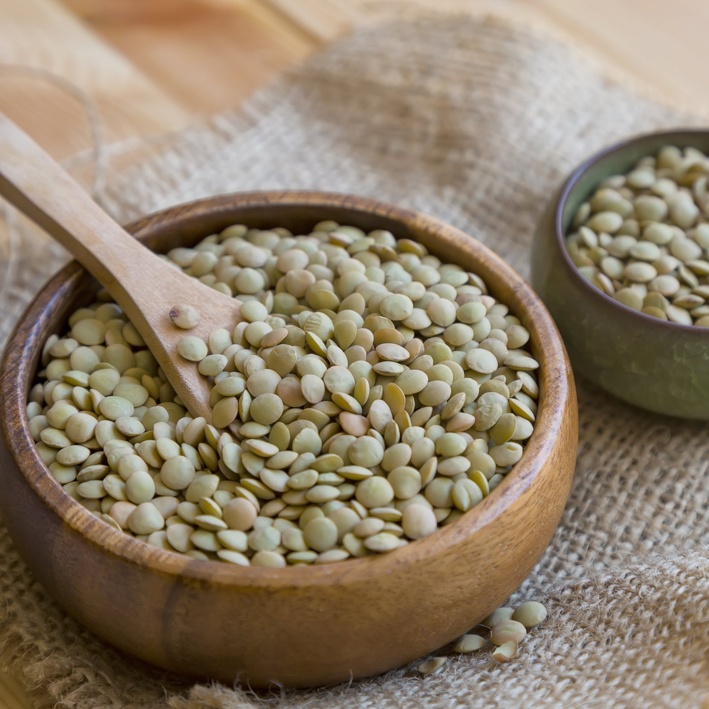 NEW! Organic Large Green Lentils