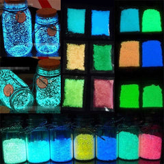 Glow In The Dark Sand for Room Decoration