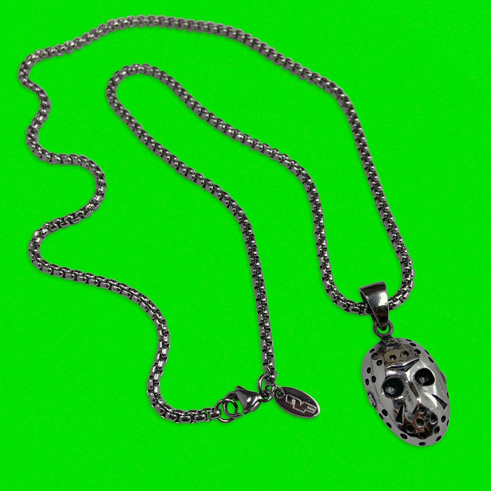 Personal Fears chain Hockey Mask Pendant Chain Stainless Steel Jewelry